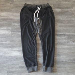 Black Grey SP Banded Sweats